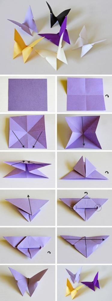 Оригами көбелегі
