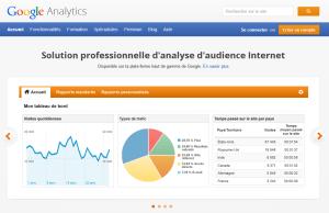 Code de suivi Google Analytics