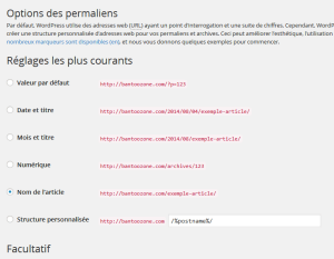 pages statiques inaccessibles dans wordpress