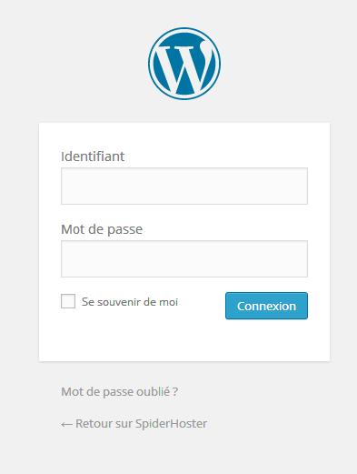 Personnaliser le lien du logo wordpress