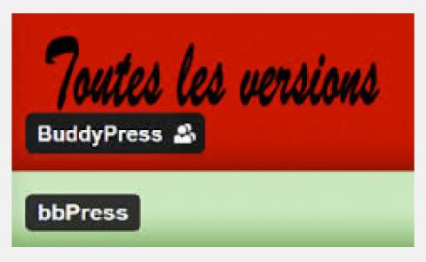 Où trouver les anciennes versions de Buddypress et bbpress