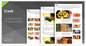 Theme cuisine WordPress