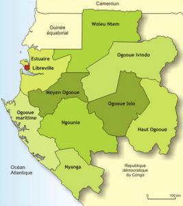 Les armoiries du Gabon