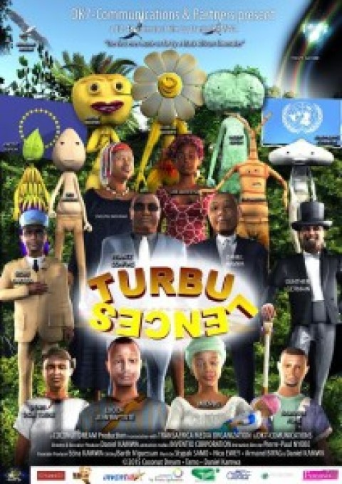 Turbulences, un film d'animation africain en 3D 4K