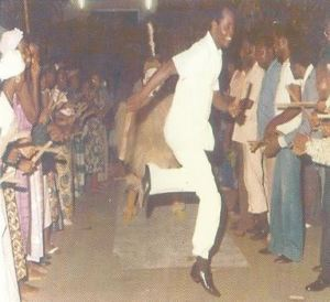 Elong: instrument de musique du Gabon