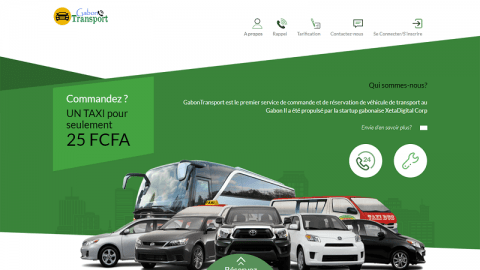 Transport au Gabon: une application mobile pour les usagers