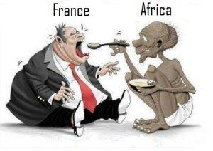 La France vole toujours l'Afrique