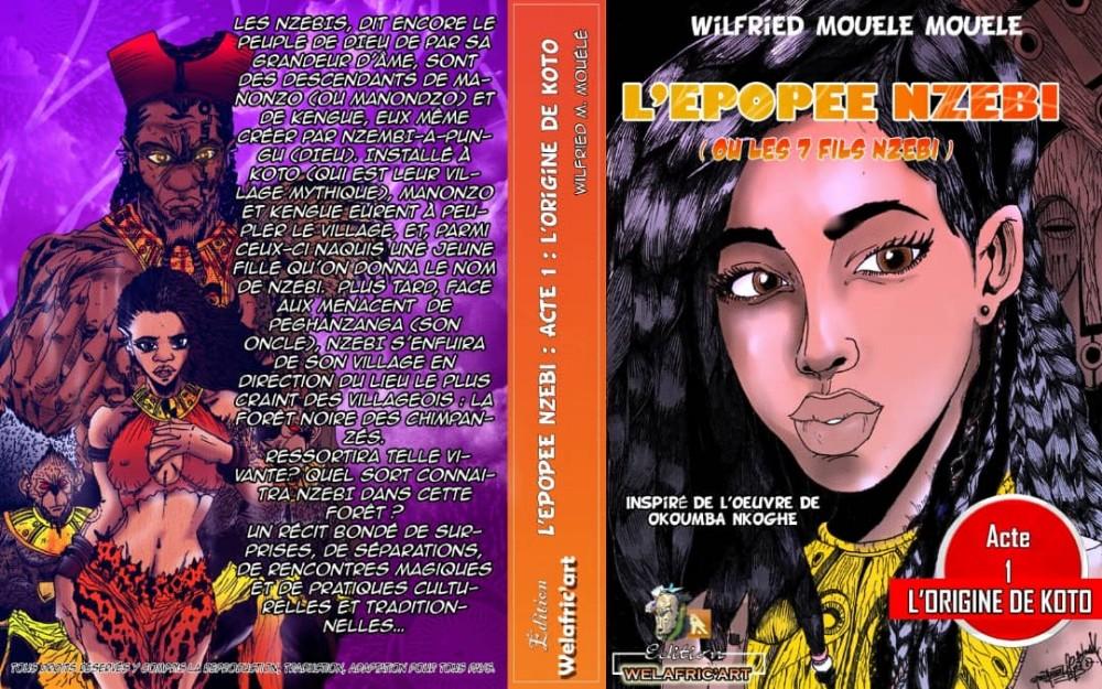 Gabon: Nzebi en bande dessinée