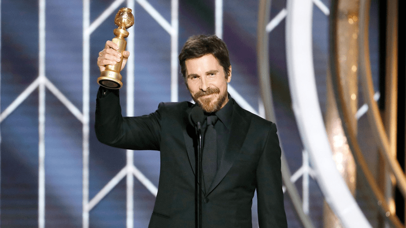 Christian Bale remercie Satan aux Golden Globes