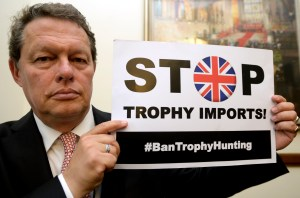 Will Travers, President of Born Free Foundation