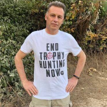 Chris Packham in our Tee