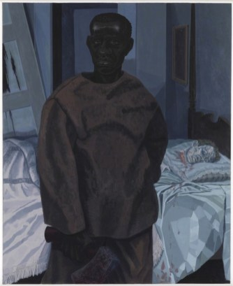 Portrait of Nat Turner with the Head of his Master, 2011