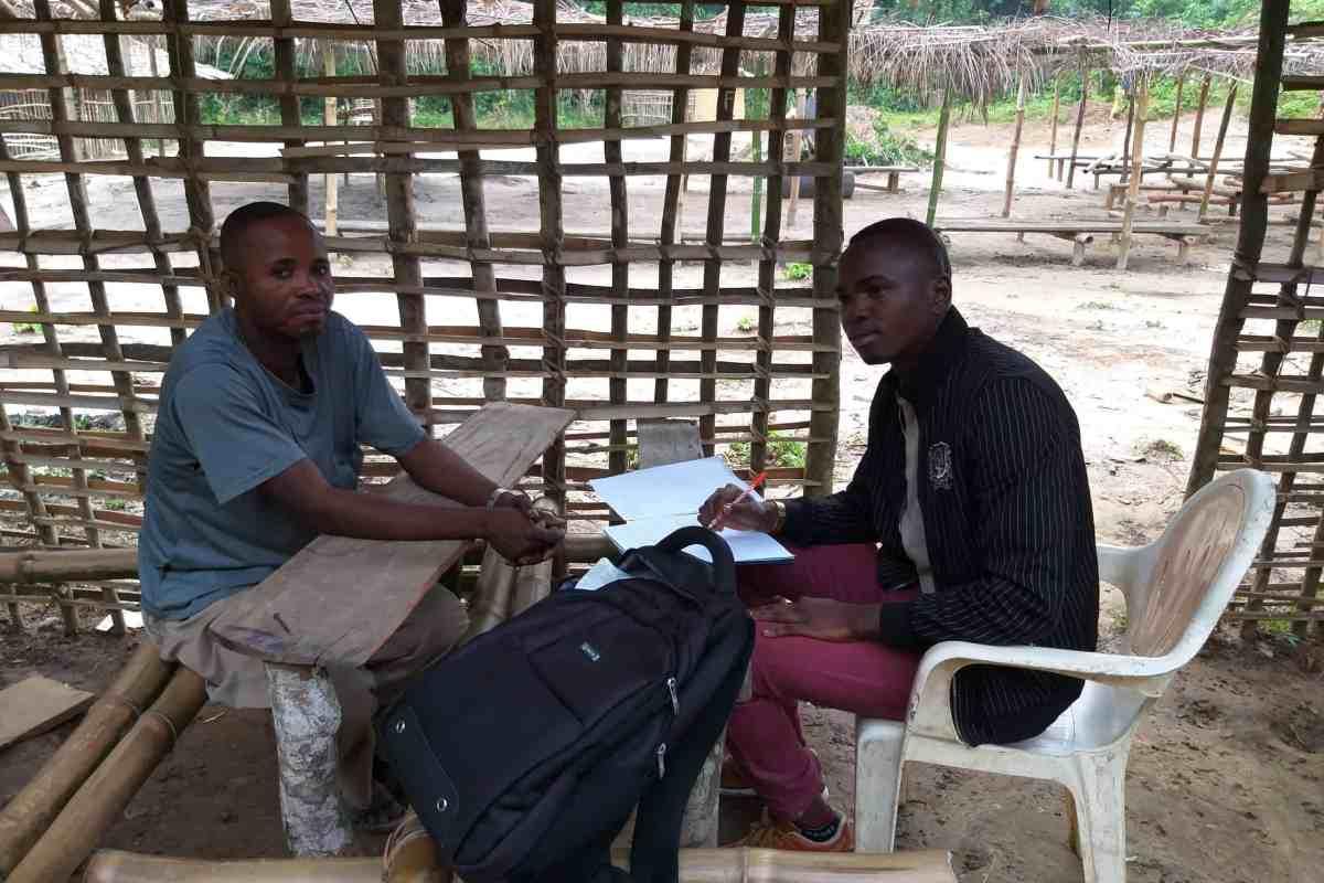 David Kopa wa Kopa, interview sur la langue mokpá, Batikamondji, 20/02/20