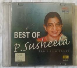 Best Of P. Suseela Tamil Film Songs Audio CD