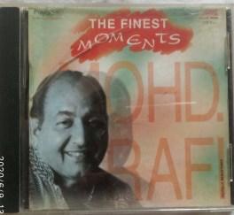 The Finest Moments Mohd. Rafi Hindi Audio CD