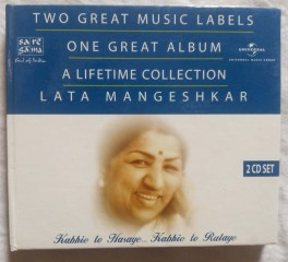 Two Great Music Lables One Great Album A Lifetime Collection Lata Mangeshkar Hindi Audio CD