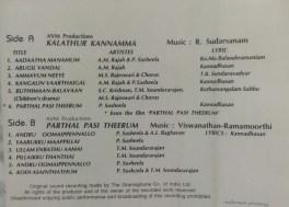 Kalathur Kannamma – Parthal Pasi Theerum Tamil Audio Cassette