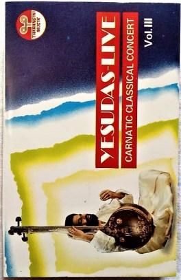 Yesudas – Live Carnatic Classical Concert Vol 3 Audio Cassette