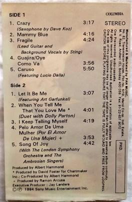 Julio Iglesias Crazy English Audio Cassettes