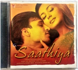 Saathiya Hindi Audio Cd By A. R. Rahman
