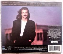 Yanni Live At The Acropolis Audio Cd
