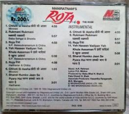 Roja Hindi Audio CD by A.R. Rahman