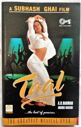Taal Hindi Audio Cassettes By A.R Rahman