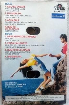 Josh Hindi Audio Cassettes By Anu Malik