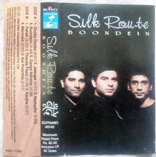 Silk Route Boondein Hindi Audio Cassettes