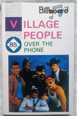 Village People Over The Phone Audio Cassettes
