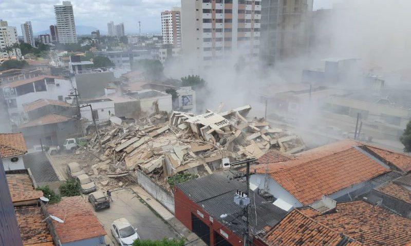 """Prefeito de Fortaleza promete """"investigação rígida"""" sobre desabamento"""