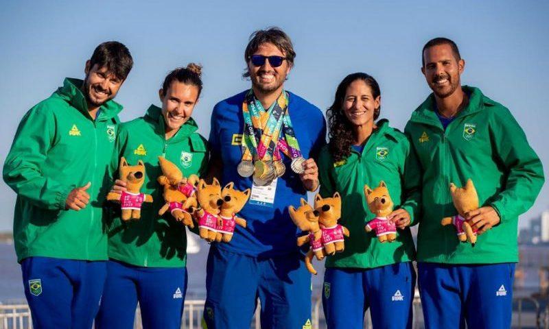 Beach tennis do Brasil é prata nos Jogos Mundiais de Praia
