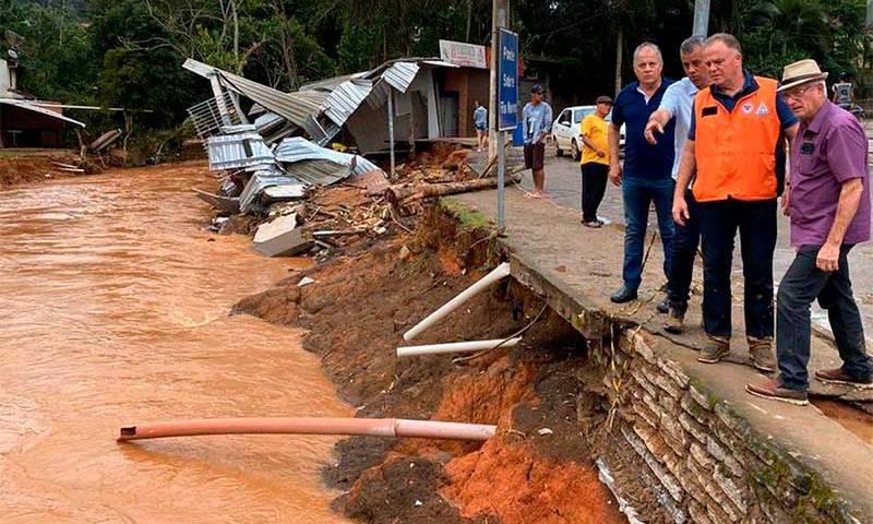 Aumenta número de afetados pela chuva no Espírito Santo