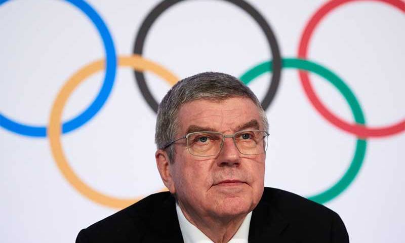 Bach prevê enormes custos adicionais para o COI com adiamento de Jogos