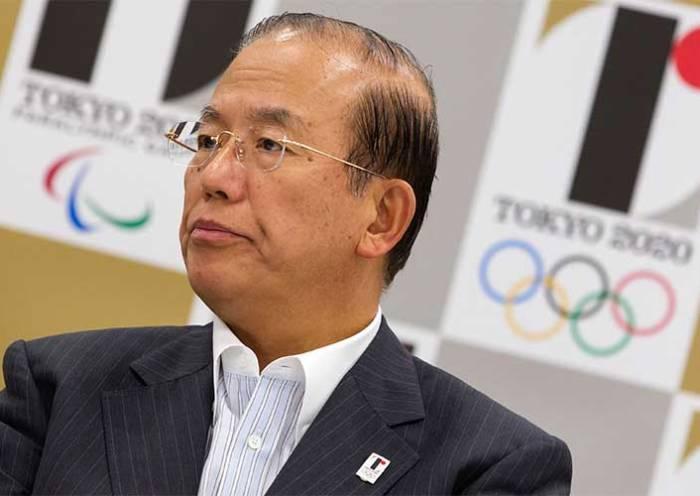 Toshiro Muto, diretor-executivo do Comitê Organizador dos Jogos de Tóquio 2020