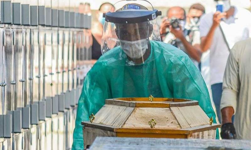 Covid-19: Brasil tem mil novas mortes e total chega a 21.048