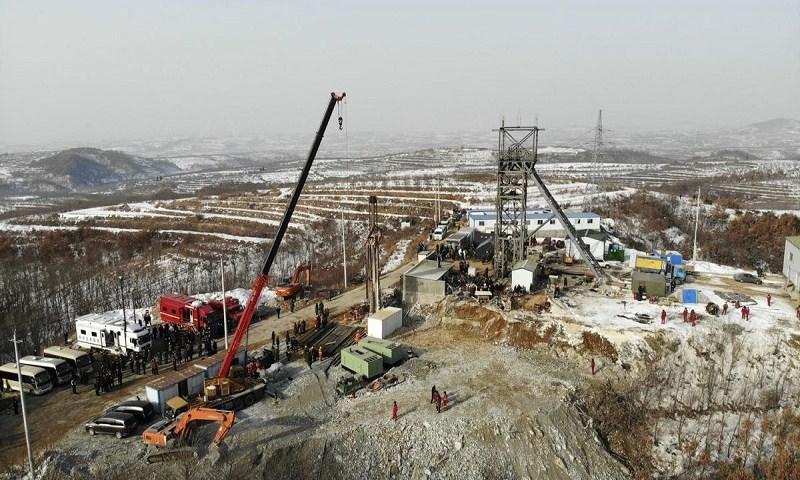 Responsáveis por mina de ouro na China são detidos