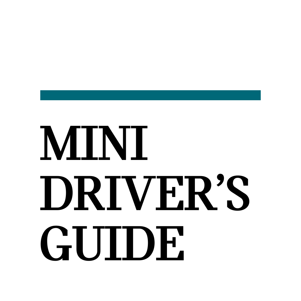 Mini Cooper Owners Manual