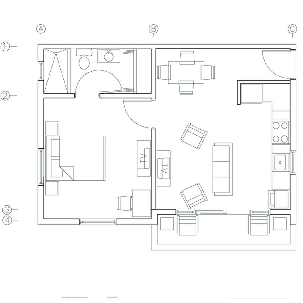 ID-ATG01: Dieppe Bay Residence: Beautiful 1bedroom