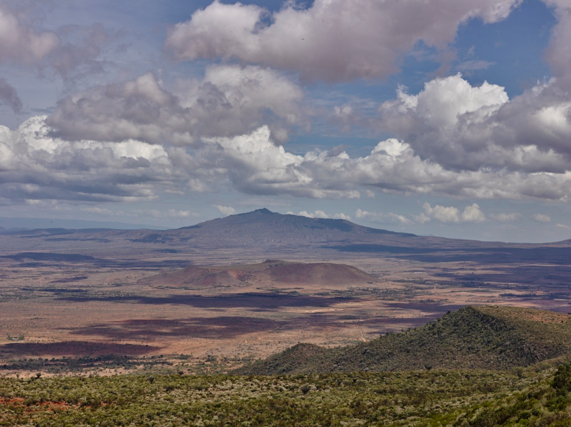 Mount Longonot as seen from Suswa Viewpoint