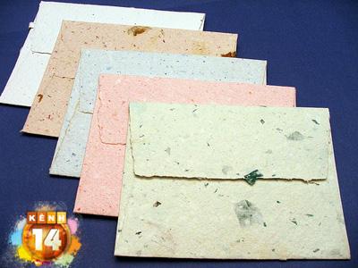 Mẫu in bao thư đẹp bằng giấy kraft
