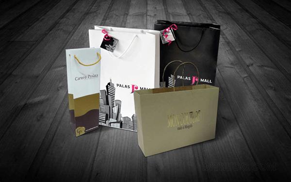 Mẫu in túi giấy cho shop thời trang
