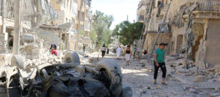 Nga gia tăng chiến đấu cơ không kích dã man tại Syria