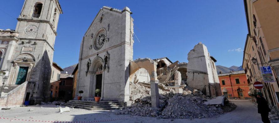 Trận động đất mạnh nhất từ thập niên 1980 lại xảy ra cho nước Ý
