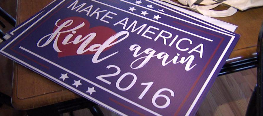 """""""Xây dựng nước Mỹ tử tế lại"""" – thông điệp mạnh mẽ của người phụ nữ"""