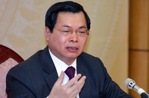 Ông Vũ Huy Hoàng bị xóa tư cách Bộ trưởng Công thương nhiệm kỳ 2011-2016 nhưng ông vẫn còn tư cách bộ trưởng nhiệm kỳ 2007-2011. Ảnh: Dân Trí