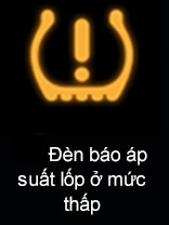 Đèn báo áp suất lốp ở mức thấp