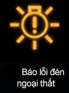 Đèn cảnh báo lỗi đèn ngoại thất