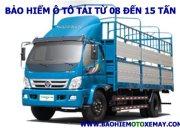 Bảo hiểm xe ô tô tải từ 08 đến 15 tấn