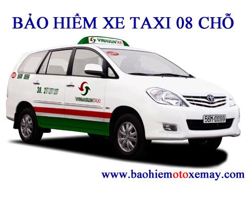 Bảo hiểm TNDS bắt buộc xe taxi 08 chỗ | Chiết khấu 30
